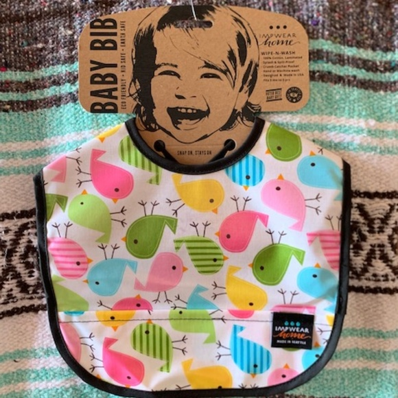Jacks Bibs/IMPWEAR Other - Laminated- wash and wear Bib